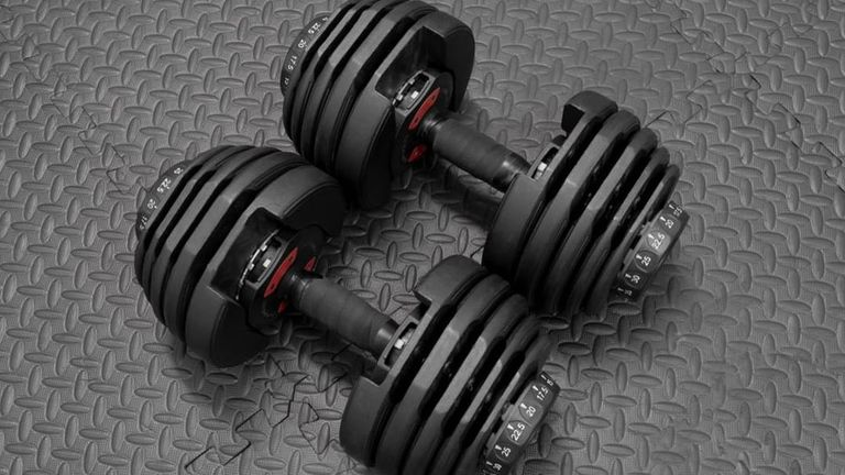 Step Fitness 4-Weight Deluxe Barbell Set